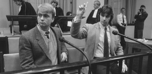 Proces tegen Heinekenontvoerders Cor van Hout en Willem Holleeder