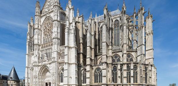 Beauvais Kathedraal bouw