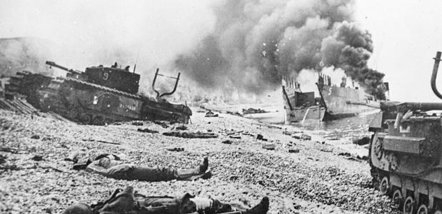 Dieppe 1942 landing