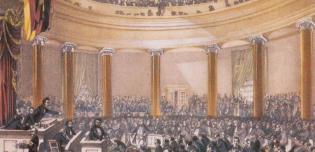 Frankfurter Parlement 1848 Duitsland