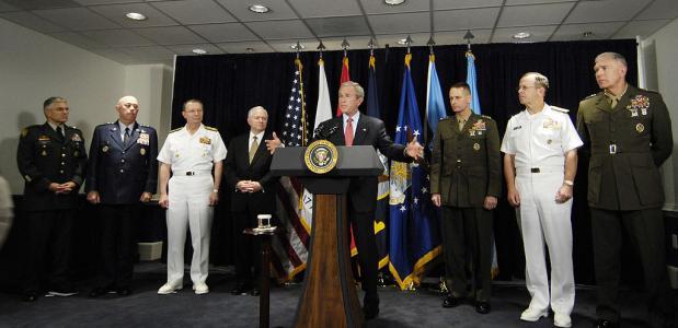 Amerikaanse president oorlog verklaren
