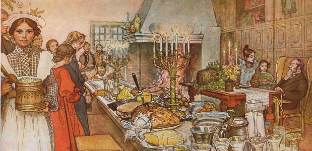 Kerstdiner geschiedenis traditie