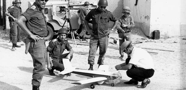 geschiedenis drones UAV leger
