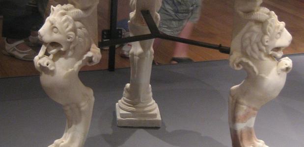Romeinse tafel, geschiedenis eettafel