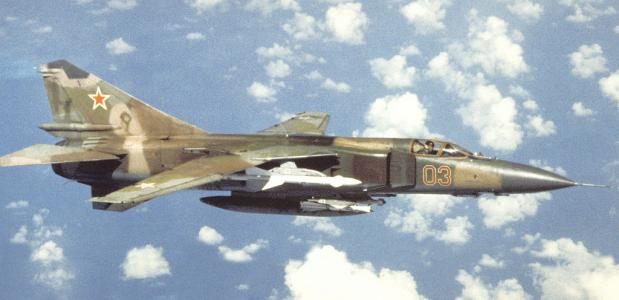 MiG-23 Crash Kortrijk