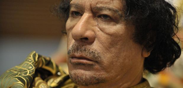 Muammar Kaddafi biografie