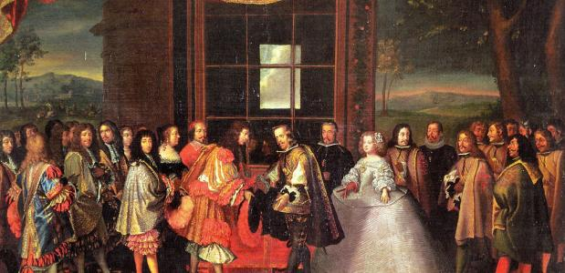 Fazanteneiland 1659 Verdrag van de Pyreneeën