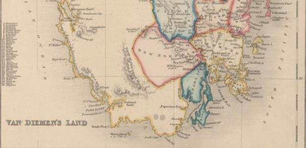 Van Diemensland Abel Tasman