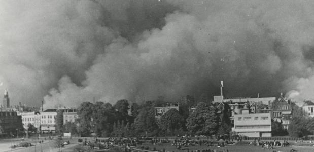 Bombardement op Rotterdam