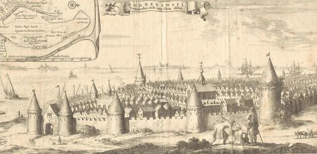 Het stadje Reimerswaal