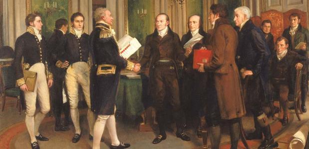 Vrede van Gent oorlog van 1812