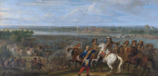 Begin van de Hollandse Oorlog tijdens het Rampjaar 1672