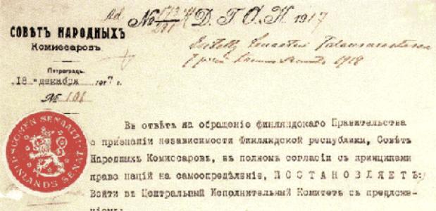 100 jaar Finse onafhankelijkheid