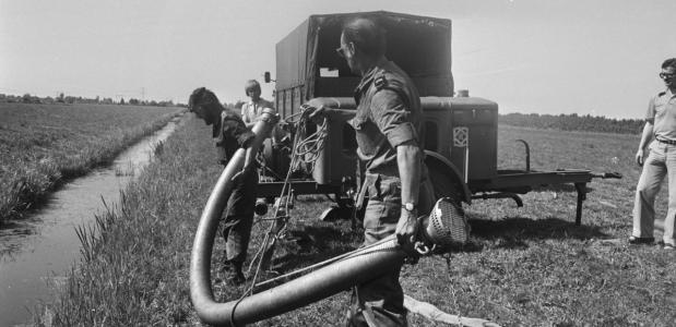 Droogte in Nederland 1976