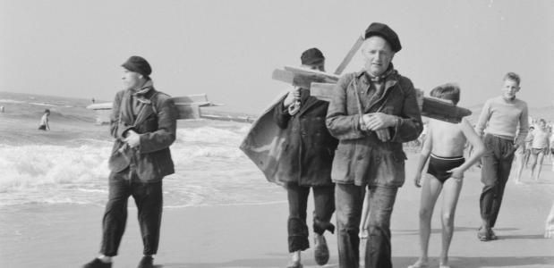 geschiedenis van strandjutten