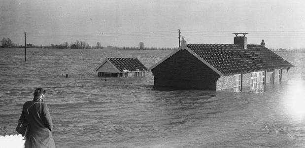 Watersnood 1953 [Overstromingsplaatjes]