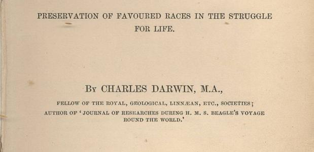 Origin of species Charles Darwin
