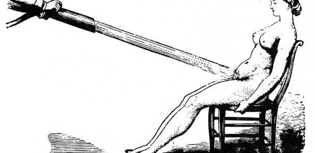 Vibrator hysterie watermassage