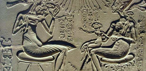 Farao's Nefertiti en Akhnaton