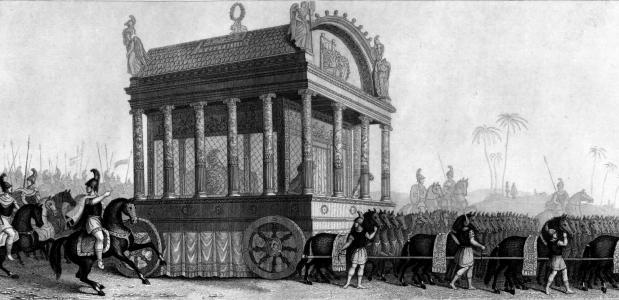 Alexanders lijkwagen