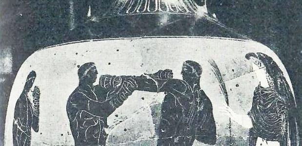 Bokser uit de Griekse Oudheid
