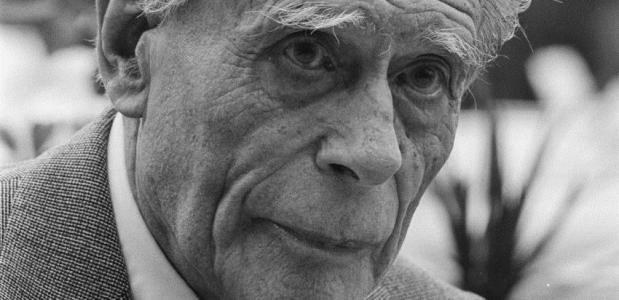 Anton Pieck op 90-jarige leeftijd.