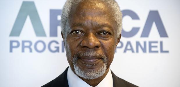 Kofi Annan VN Biografie