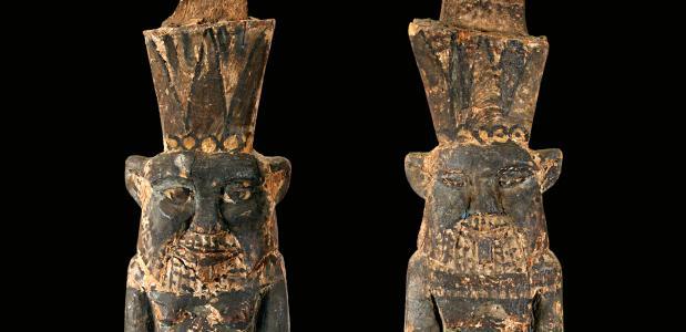 Beelden Egyptische goden