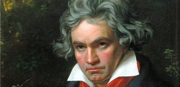 Ludwig van Beethovens gekwelde portret.