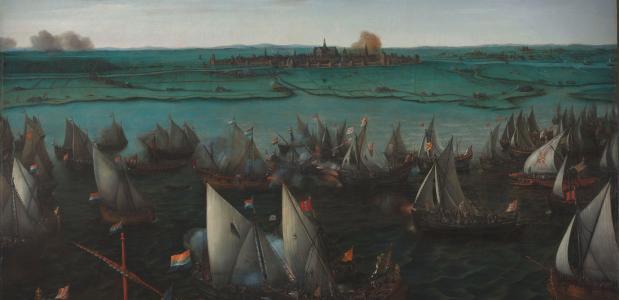 Slag op het Haarlemmermeer