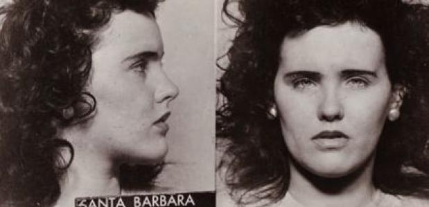 Black Dahlia Mugshot via Wikimedia Commons
