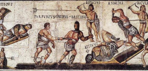 verschillende soorten gladiatoren
