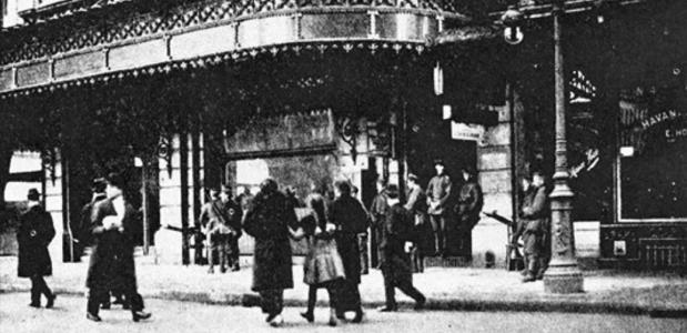 Brussel 1918 Bevrijding Opstand