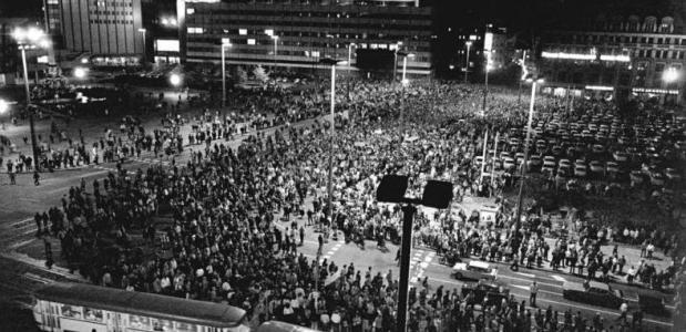 maandagavonddemonstraties in Leipzig