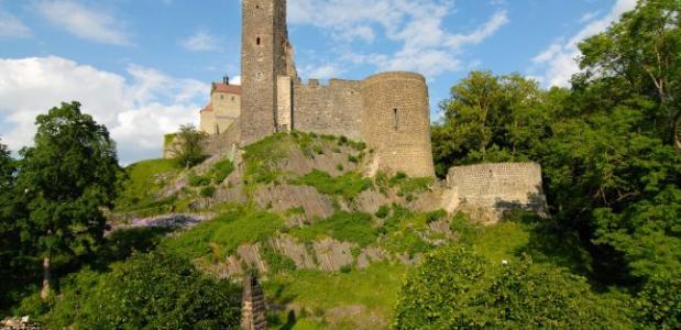 Burg Stolpen Basaltfelsen K Schieckel