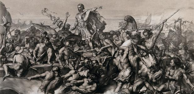 Caesars invasie van Groot-Brittannië