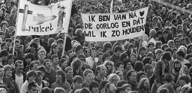 Malieveld demonstratie 1983