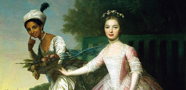 Dido Elizabeth Belle Murray portret Somerset Case
