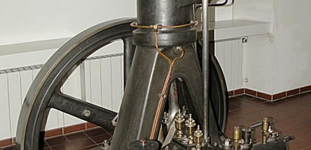 Eerste diesel motor, Deutsches Museum, München