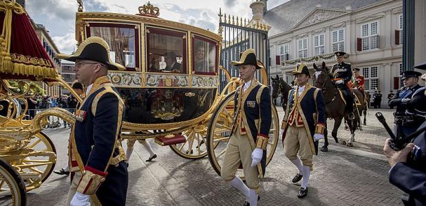 geschiedenis van prinsjesdag en de koets