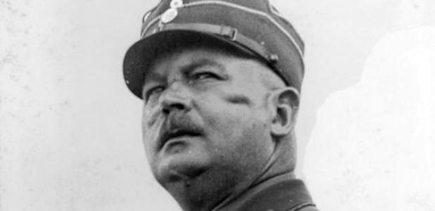 Ernst Röhm, 1929. Bron: Wikimedia Commons.