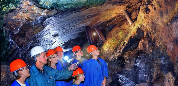 Zilvermijn Freiberg bezoeken
