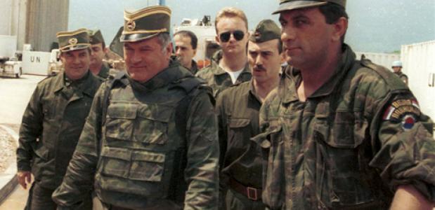 Ratko Mladić in 1993 (Wikimedia Commons)