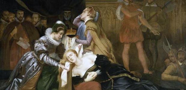 Maria Stuart Koningin Schotland geëxecuteerd