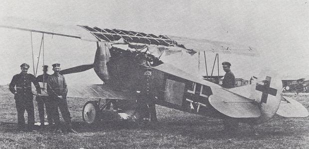 Fokker Vrede van Versailles