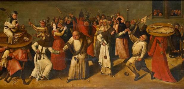 Het gevecht tussen Carnaval en Vasten