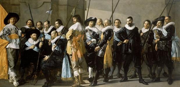 Frans Hals, De magere compagnie [Public domain], via Wikimedia Commons