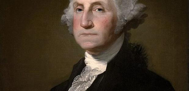 George Washington eerste president Amerika