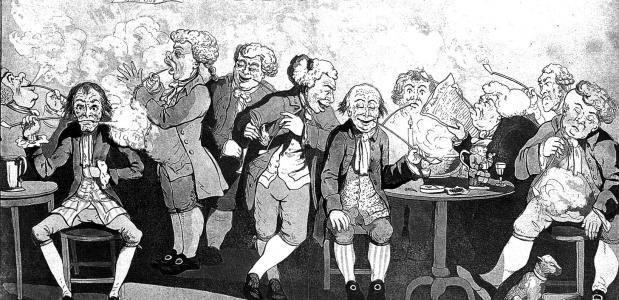 De geschiedenis van ''herenclubs''