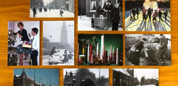 win historische kerstkaarten